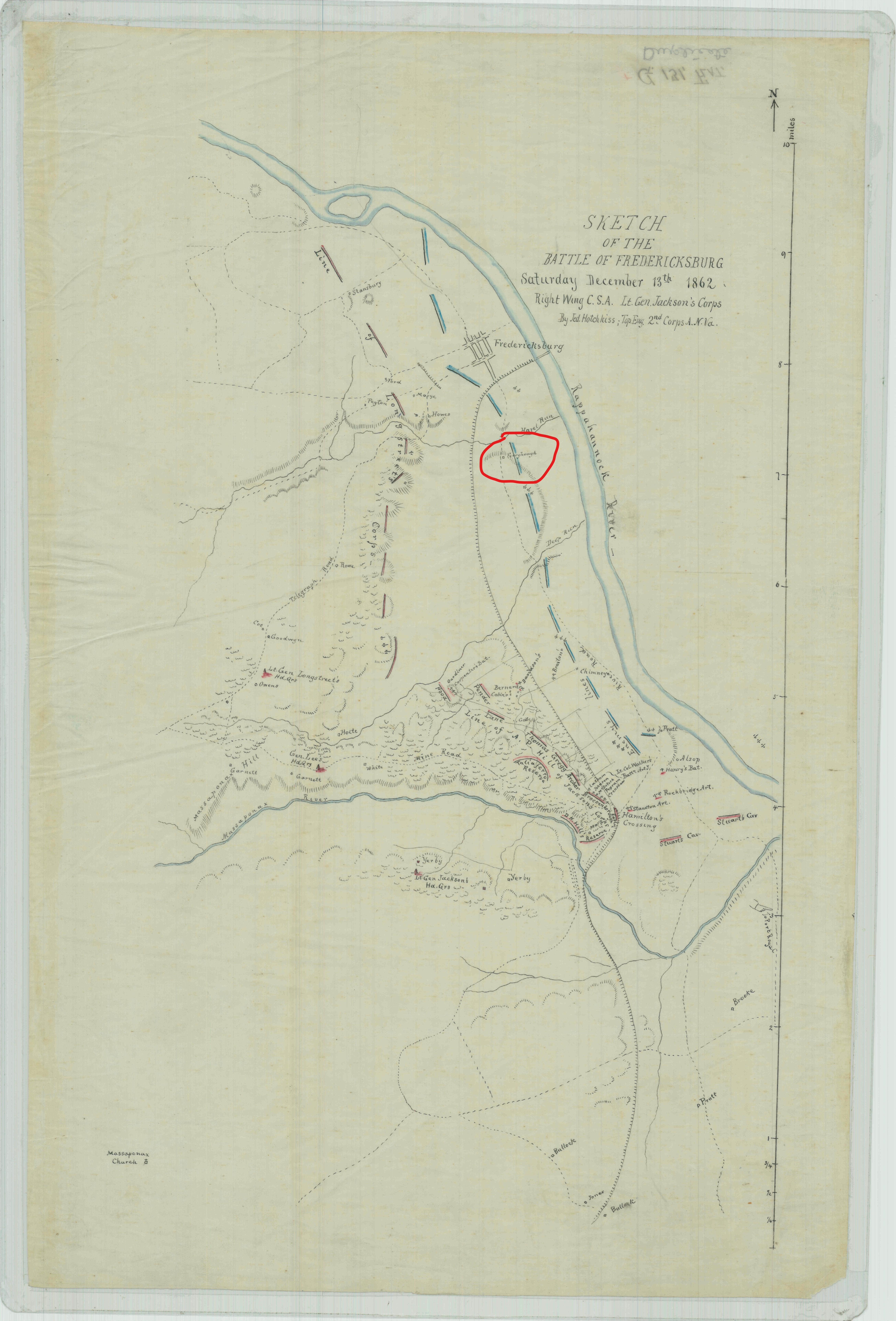 InkedSketch of the Battle of Fredericksburg_LI