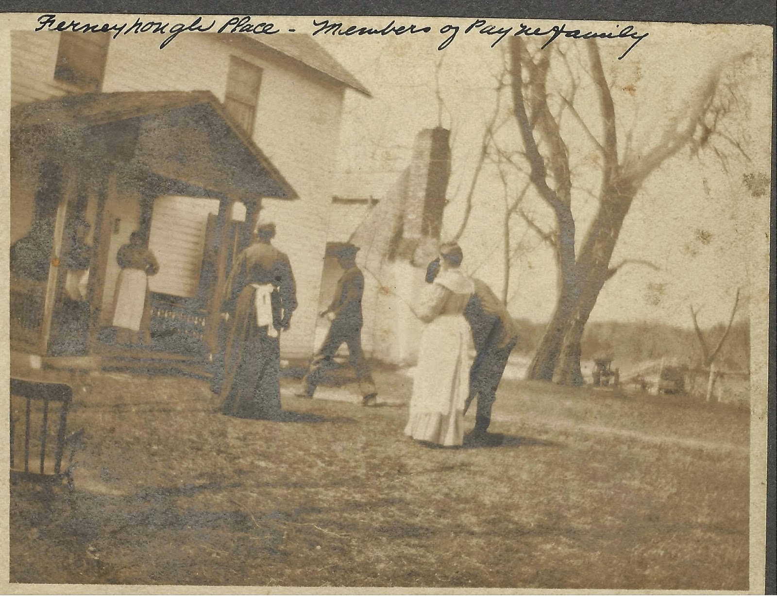 Ferneyhough place in Spotsy - Robert Walker